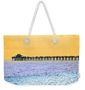 The Long Pier - Art By Sharon Cummings Weekender Tote Bag