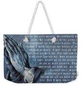 The Lord Is My Shepherd Weekender Tote Bag