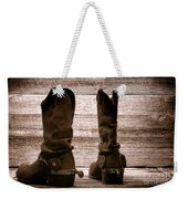 The Lost Boots Weekender Tote Bag