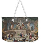 The Lottery, Illustration From Hogarth Weekender Tote Bag