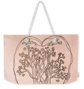 The Love And Celebration Of The Maple Tree Family Weekender Tote Bag