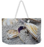 Shells In The Sand Weekender Tote Bag