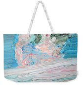 The Lovers And The Bed Weekender Tote Bag