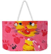 The Lucky Cat Weekender Tote Bag