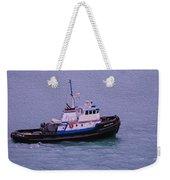 The Lunch Bucket Boat Weekender Tote Bag