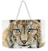 The Lynx Weekender Tote Bag