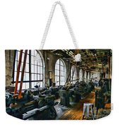 The Machine Shop Weekender Tote Bag