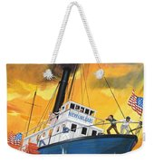 The 'madmen' Of The Mississippi Weekender Tote Bag by English School