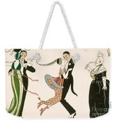 The Madness Of The Day Weekender Tote Bag by Georges Barbier