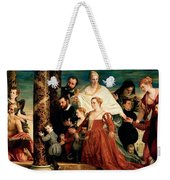 The Madonna Of The Cuccina Family Weekender Tote Bag