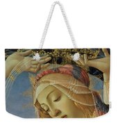 The Madonna Of The Magnificat Weekender Tote Bag by Sandro Botticelli