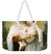 The Madonna Of The Roses Weekender Tote Bag