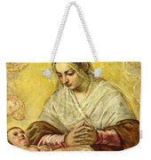 The Madonna Of The Stars Weekender Tote Bag