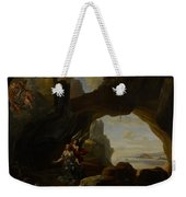 The Magdalen In A Cave Weekender Tote Bag