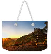 The Magic Bench Weekender Tote Bag