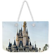 The Magic Kingdom Castle On A Beautiful Summer Day Weekender Tote Bag