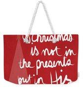 The Magic Of Christmas- Greeting Card Weekender Tote Bag
