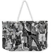 The Magician 3-monochrome Weekender Tote Bag