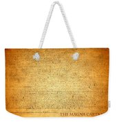 The Magna Carta 1215 Weekender Tote Bag