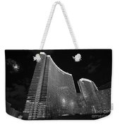 The Magnificent Aria Resort And Casino At Citycenter In Las Vegas Weekender Tote Bag