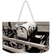 The Mailbox And The Wagon Weekender Tote Bag