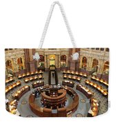 The Main Reading Room Of The Library Of Congress Weekender Tote Bag