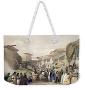 The Main Street In The Bazaar Weekender Tote Bag