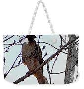 The Majestic Hawk Weekender Tote Bag