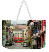 The Majestic Theater Chinatown Singapore Weekender Tote Bag