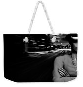 The Man In The Hat Returns Weekender Tote Bag