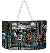 The Man With The Balls  Weekender Tote Bag
