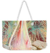 The Manger Is Empty But The Light Still Shines Weekender Tote Bag