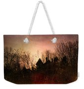 The Mansion Is Warm At The Top Of The Hill Weekender Tote Bag by Bob Orsillo