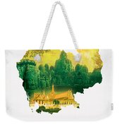 The Map Of Cambodia 2 Weekender Tote Bag