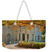 The Marble House In Autumn Weekender Tote Bag