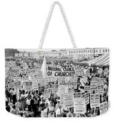 The March For Civil Rights Weekender Tote Bag by Benjamin Yeager