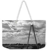 The Marine Road Bridge Southport Weekender Tote Bag