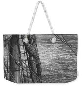 The Mariner Describes To His Listener The Wedding Guest His Feelings Of Loneliness And Desolation  Weekender Tote Bag