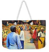 The Market Place Weekender Tote Bag