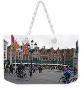 The Markt Bruges Belgium Weekender Tote Bag