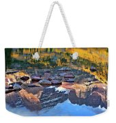 The Maroon Bells Reflected Weekender Tote Bag