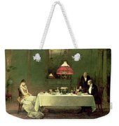 The Marriage Of Convenience, 1883 Weekender Tote Bag by Sir William Quiller Orchardson