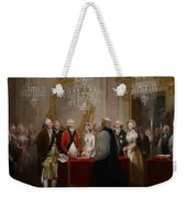 The Marriage Of The Duke And Duchess Of York Weekender Tote Bag by Henry Singleton