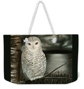 The Marsh At Night Weekender Tote Bag