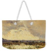 The Marsh In The Souterraine, 1842 Weekender Tote Bag by Theodore Rousseau