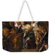 The Martyrdom Of Saint Mena Weekender Tote Bag