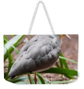 The Masked Lapwing Vanellus Miles Previously Known As The Mask Weekender Tote Bag