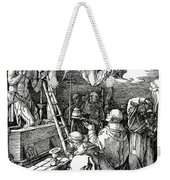 The Mass Of St. Gregory Weekender Tote Bag