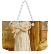 The Master Of The House Weekender Tote Bag