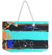 The Max Face In Inverted Colors Weekender Tote Bag